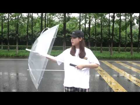 clear umbrella with light factory,supplier and wholesale-Superain Umbrella