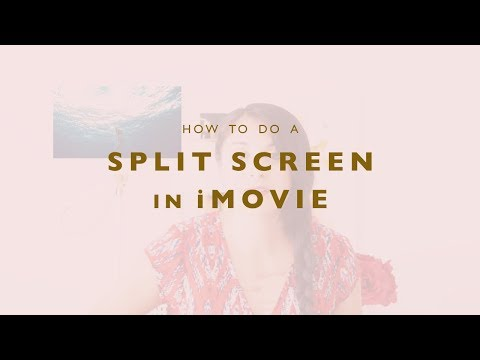 How To Do A Split Screen In IMovie