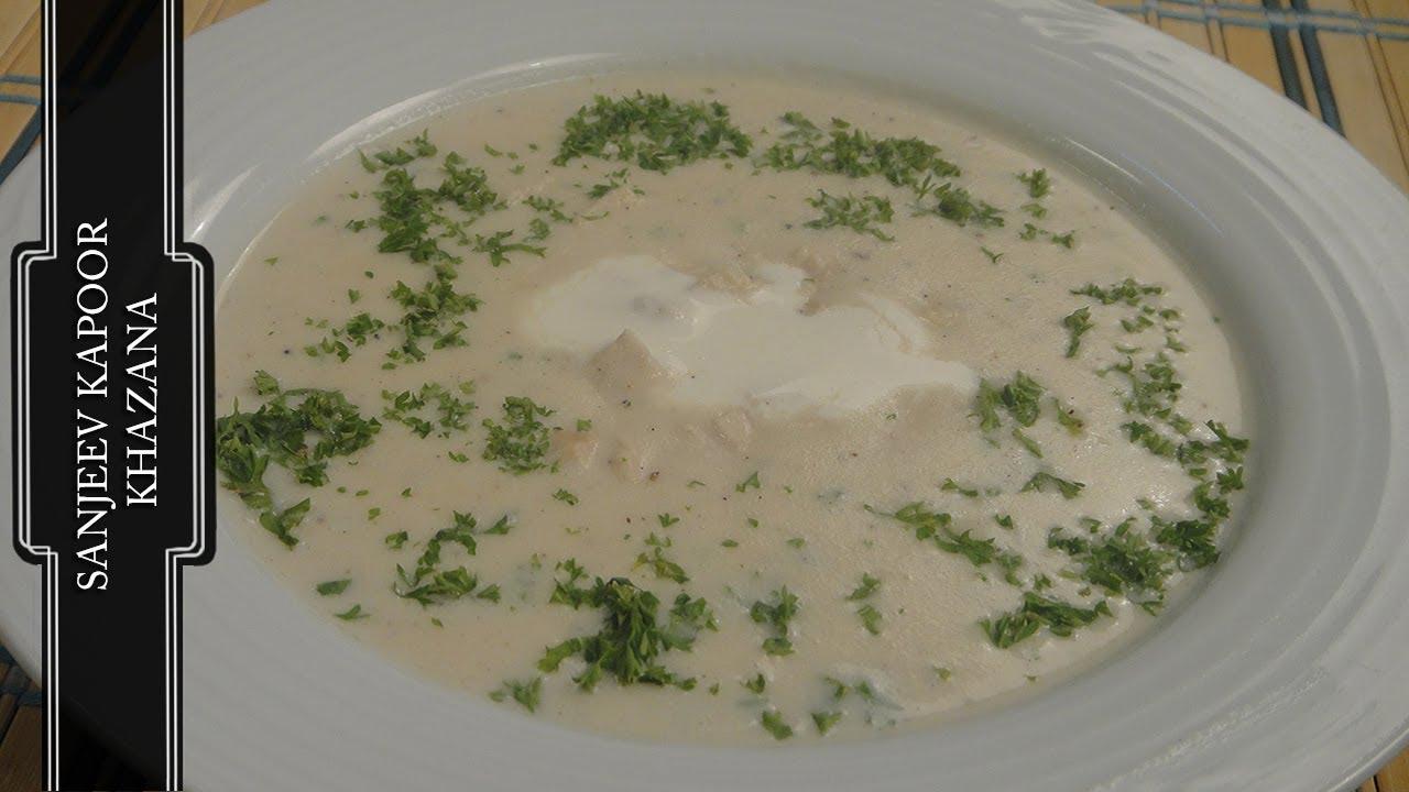 Cream of chicken soup youtube cream of chicken soup sanjeev kapoor khazana forumfinder Gallery