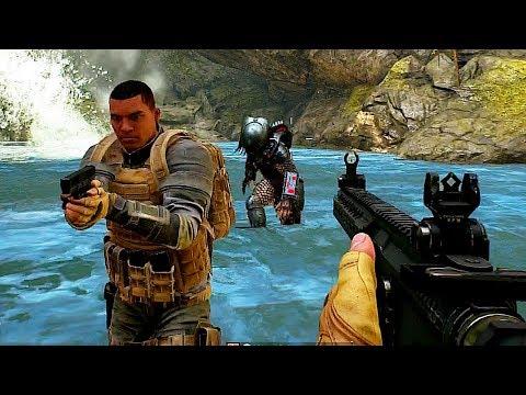 PREDATOR HUNTING GROUNDS Killing The Predator Gameplay