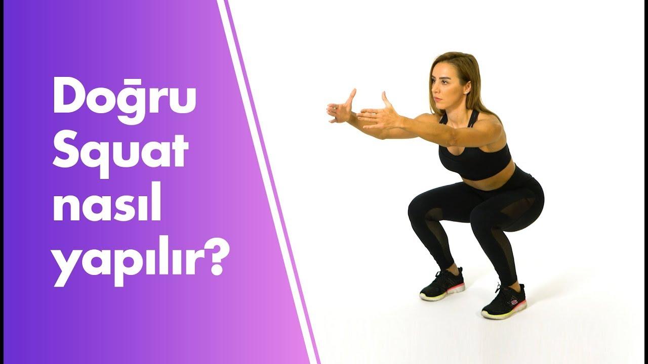 Squat Egzersizi Nasıl Yapılır ve Püf Noktaları   Güçlü Bacak   Ass to Grass, High Bar Squat