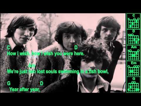 Pink Floyd - Wish You Were Here - Instrumental - Chords & Lyrics