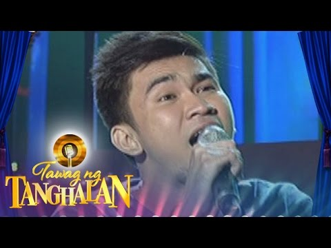 Tawag Ng Tanghalan: Michael Angelo Santos | The Last Time