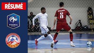 Futsal Arménie France 4 4 le résumé