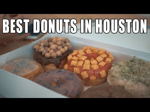 Best Donuts And Kolaches In Houston - Picking Her Name - Date Night