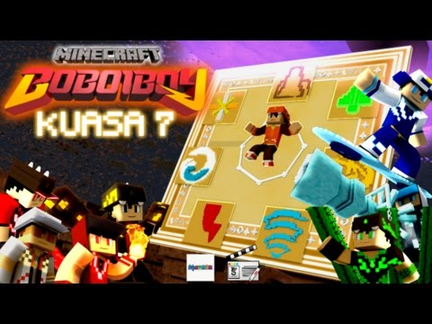 BoBoiBoy Kuasa 7 (Minecraft Re-make animation)