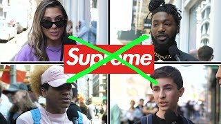 NEW YORK HATES SUPREME? AND OTHER STREETWEAR TRENDS On The Street | Fung Bros