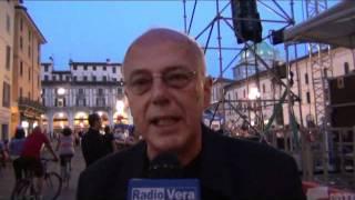 Concerto di Alberto Fortis in Piazza Loggia
