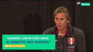 Perú 0-1 Ecuador: ¿Qué dijo RICARDO GARECA del debut de Gabriel Costa y Kevin Quevedo? | CONFERENCIA
