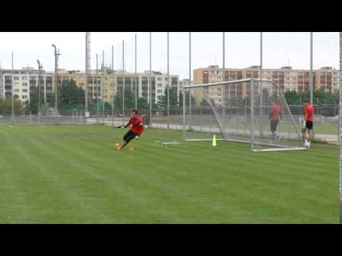 Goalkeeper´s training of FK Mladá Boleslav