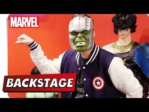 Jonah BACKSTAGE - Auf der Toy Fair bei Rubie's Pt. 1 | NEU auf Marvel HQ Deutschland