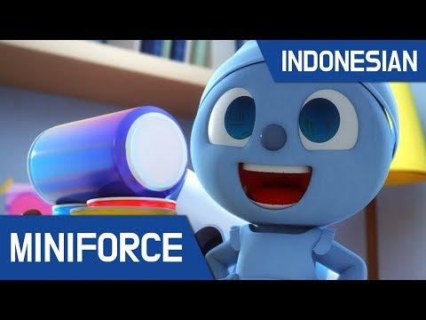 [Indonesian dub.] MiniForce S1 EP 16 : Pertempuran dengan Mechanon Penghisap