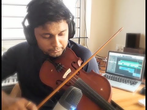 Punnagai Mannan / Raja Raja Chozhan - Violin and Vocals Cover