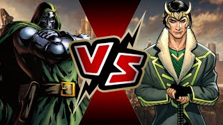 Dr. Doom VS Loki | BATTLE ARENA Video