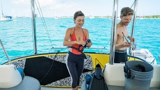 Repeat youtube video A Cruising Metropolis - Spearing, Sharks & New Friends (Sailing Curiosity)