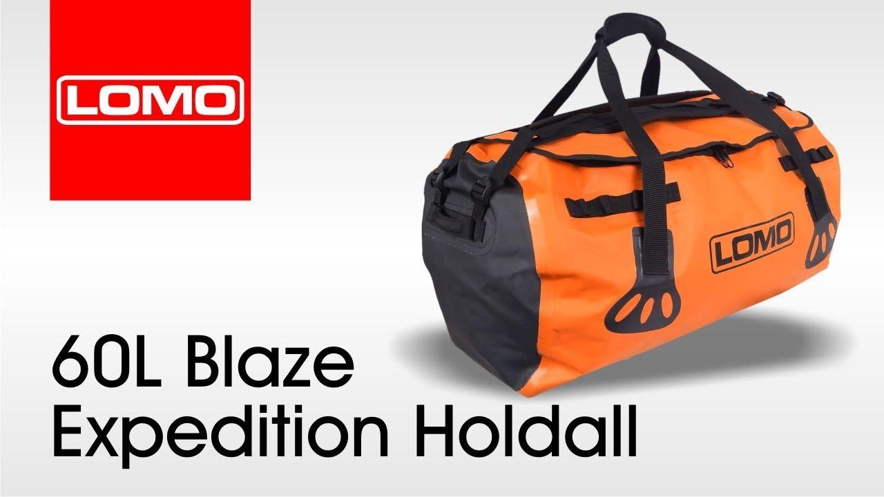 Lomo 60L Blaze Expedition Holdall - YouTube 9e91d61fe6349
