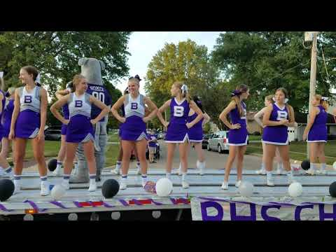 Burlington, Ia.  homecoming parade 2017