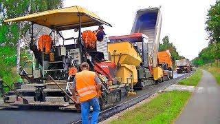 Strassenbau B70: Dynapac DF145CS / Road construction B70: Dynapac DF145CS
