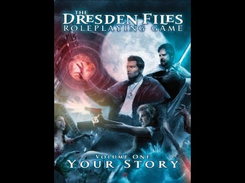Intro to Dresden files RPG, character creation