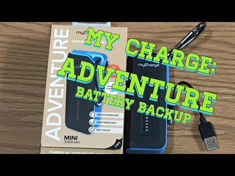 My Charge: Adventure All Terrain Battery Backup : A New Addition to my Vertx EDC Bag