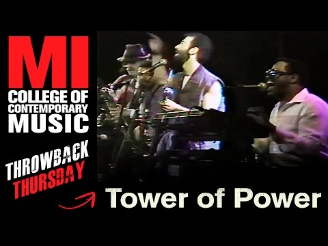 Tower Of Power Throwback Thursday from the MI Vault - 05.22.1987