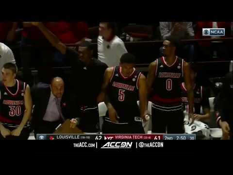 Louisville vs Virginia Tech College Basketball Condensed Game 2018