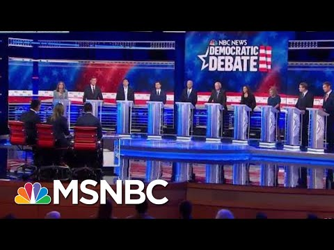 Trump's Flawed Record Attracts Challengers Aplenty For 2020 | Rachel Maddow | MSNBC
