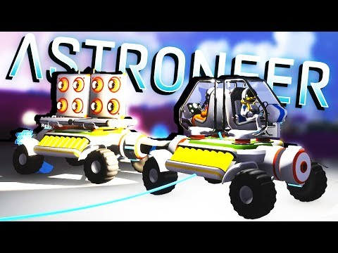 Unlocking the EPIC ROVER and STORAGE Units! - Astroneer Gameplay
