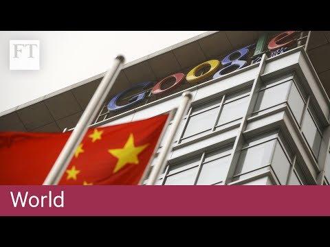 China disrupts global companies' web access