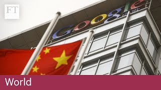 China disrupts global companies' web access