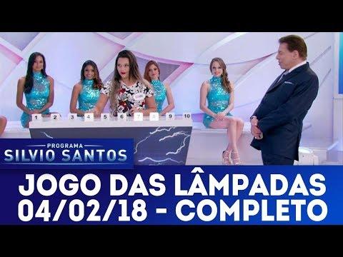 Jogo das Lâmpadas - Completo | Programa Silvio Santos (04/02/18)