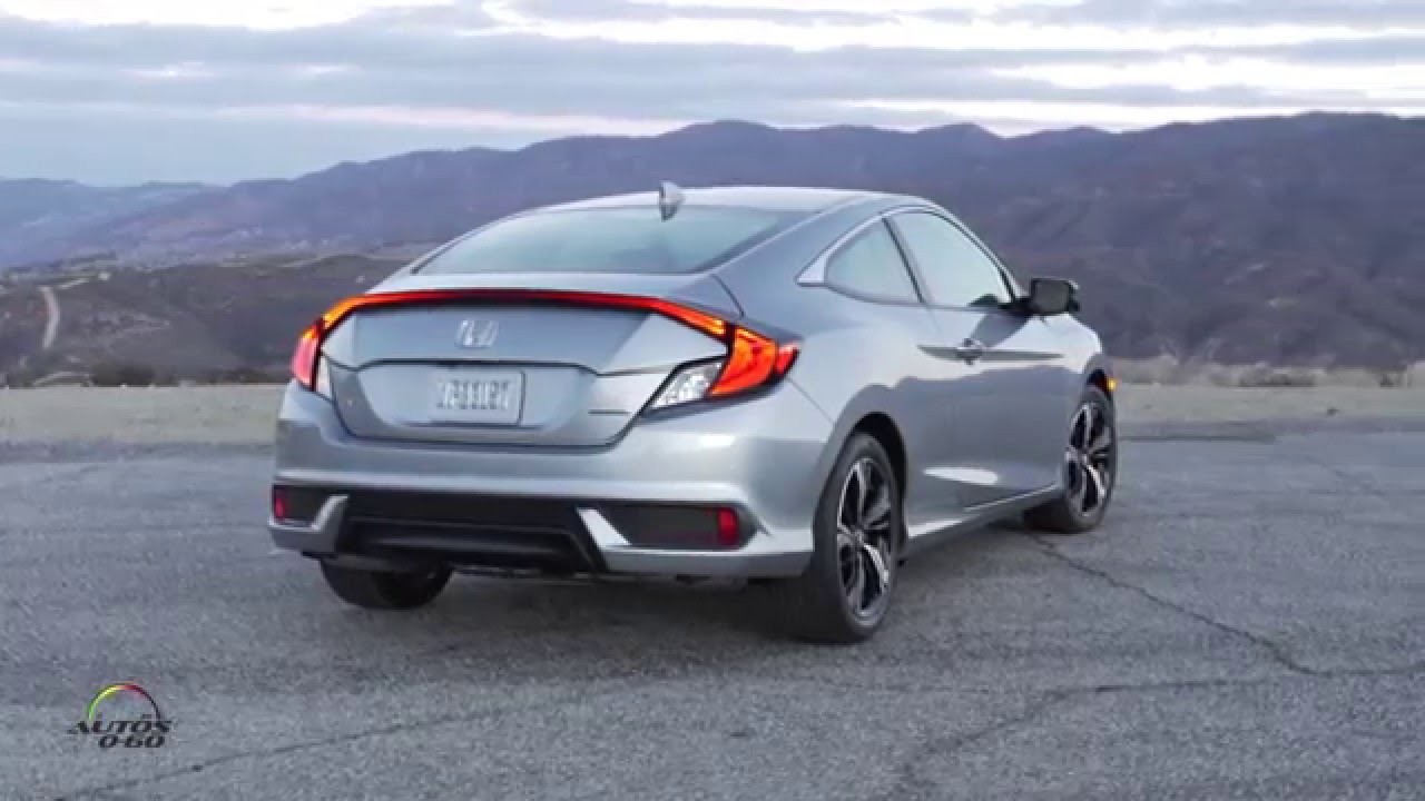 2017 Honda Civic Coupe 1st Drive With Development Leader John H You
