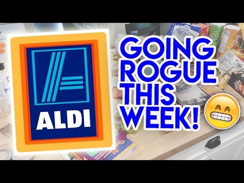 $109 ALDI HAUL! 😬 NO MEAL PLAN THIS WEEK 🍽 AUGUST 30 2019 🥪 FAMILY OF 4  GROCERY HAUL