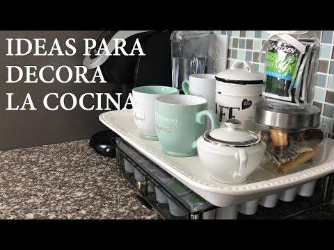 IDEAS PARA DECORAR LA COCINA/DECORACION INTERIOR/CASA/DIY
