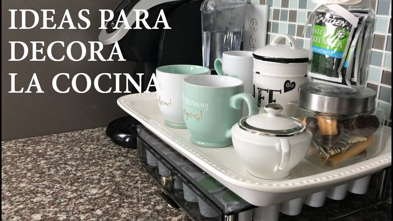 Ideas Para Decorar La Cocina Decoracion Interior Casa Diy Youtube