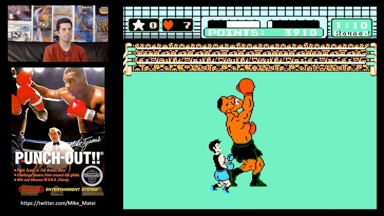 Mike Tyson S Punch Out Nes Full Playthrough W Mike Matei