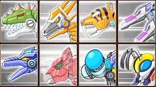 Toy Robot War Gameplay #8: Giganotosaurus & Creatures | Eftsei Gaming
