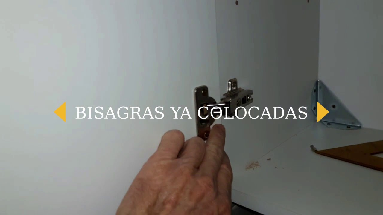COMO HACER MUEBLE ALACENA PARA COCINA - YouTube