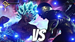 JUMP FORCE - Goku SSB Kaioken vs Golden Frieza 1vs1 Gameplay (PS4 Pro)