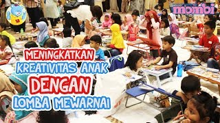 Meningkatkan Kreativitas Anak dengan Lomba Mewarnai