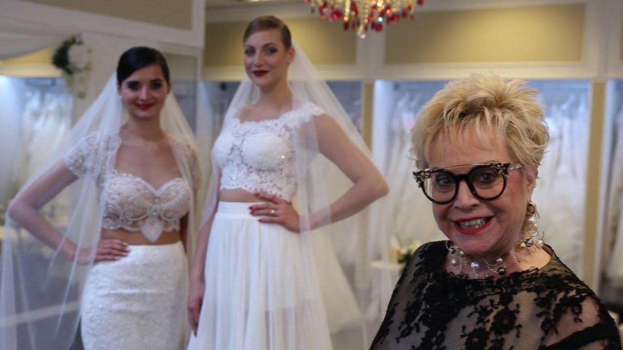 Atemberaubend orientalisch: Brautkleider von Eddy K - YouTube