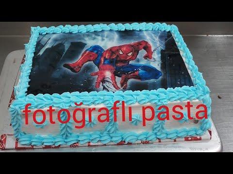 fotoğraflı pasta nasıl yapılır