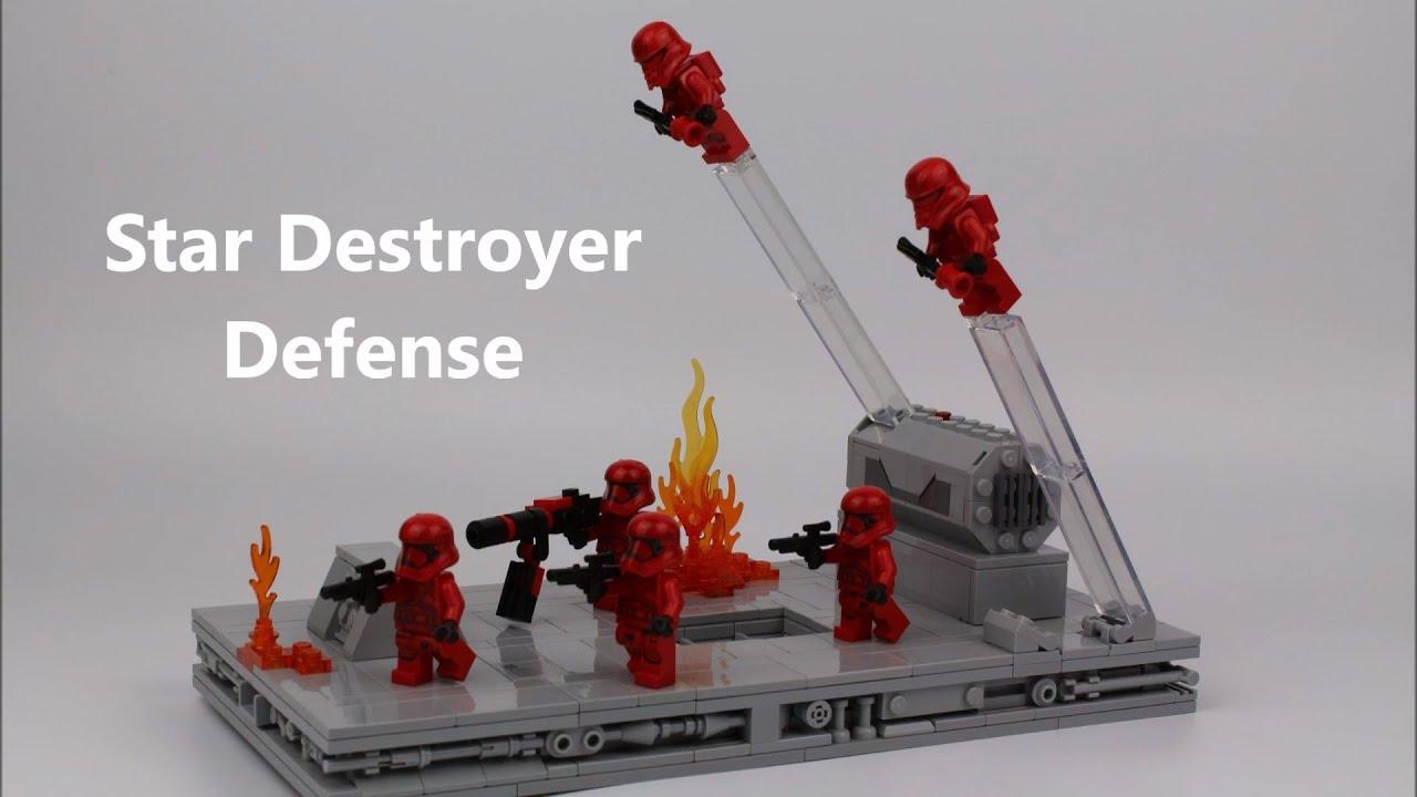 Star Destroyer Defense Lego Star Wars Episode 9 Moc Greg The Gungan Youtube