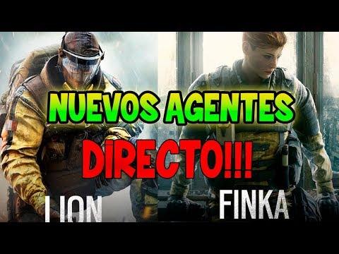JUGANDO con LION y FINKA  RAINBOW SIX SIEGE ESPAÑOL