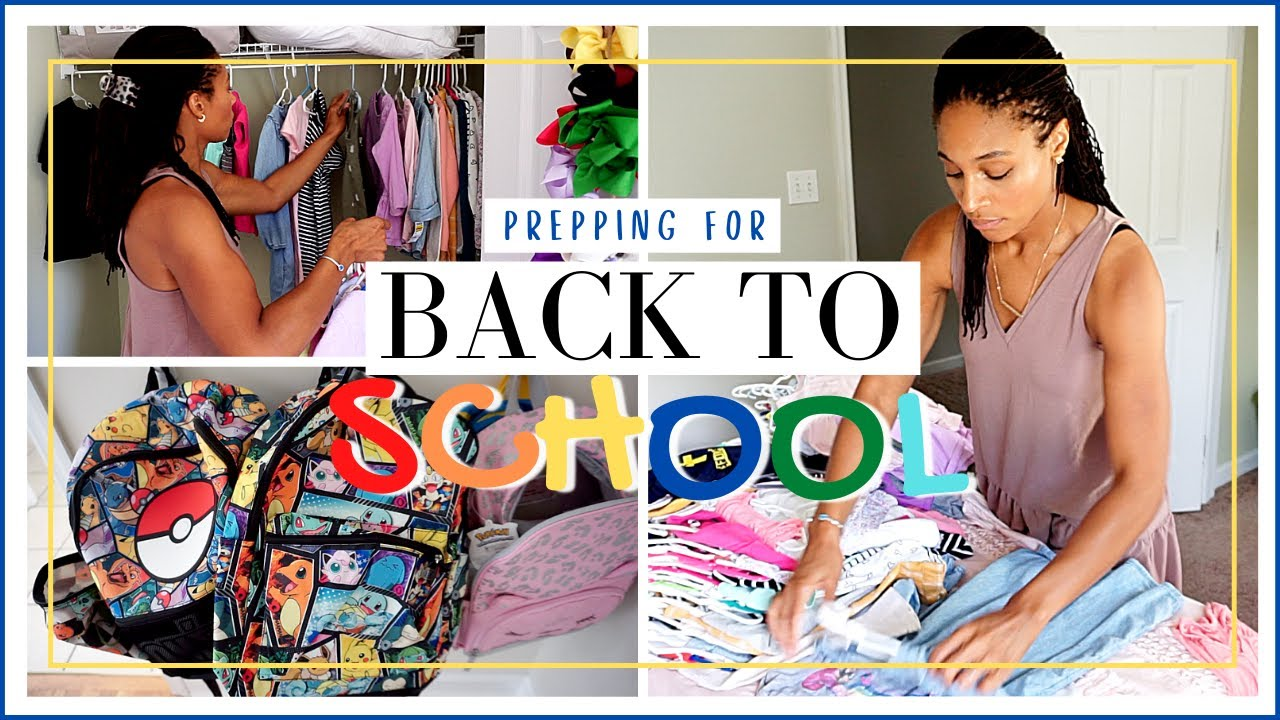 GET IT ALL DONE! KID'S CLOSET DECLUTTER, WALMART SHOP WITH ME, & COOK WITH ME | BACK TO SCHOOL PREP