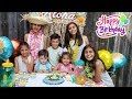 Happy Birthday Party for Hadil with HZHtube kids fun