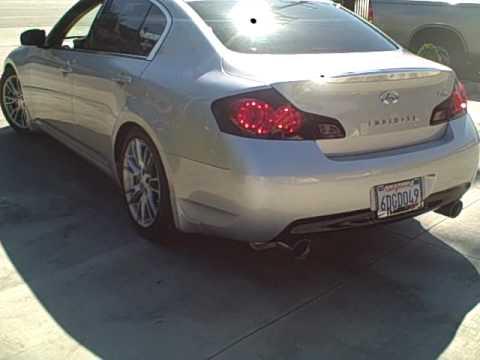 invidia gemini exhaust for g35 sedan