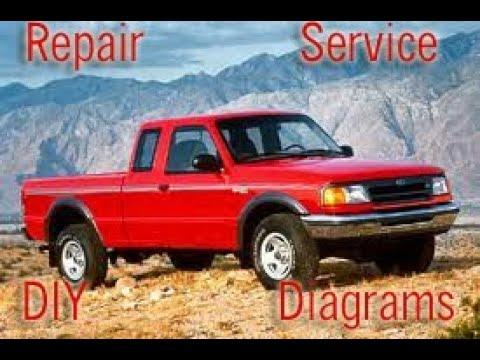 Ford Ranger 1993 94 95 96 97 Factory Service Repair Manual