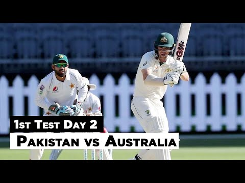 Pakistan Vs Australia | 1st Test Day 2 Full Highlights | PCB