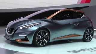 Salone di Ginevra 2015: Nissan Sway